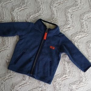 Blue Carter's Fleece Jacket